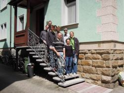 Timbre scientists at the tool developers' meeting in Tübingen