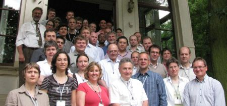 Group photo of TIMBRE partner at Kick-off meeting in Leipzig, Germany in June 2011